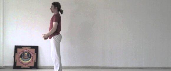Sun Salutation Variations - Slow Motion