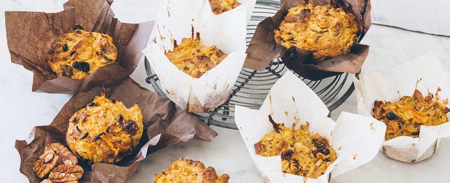 Mini Muesli Muffins