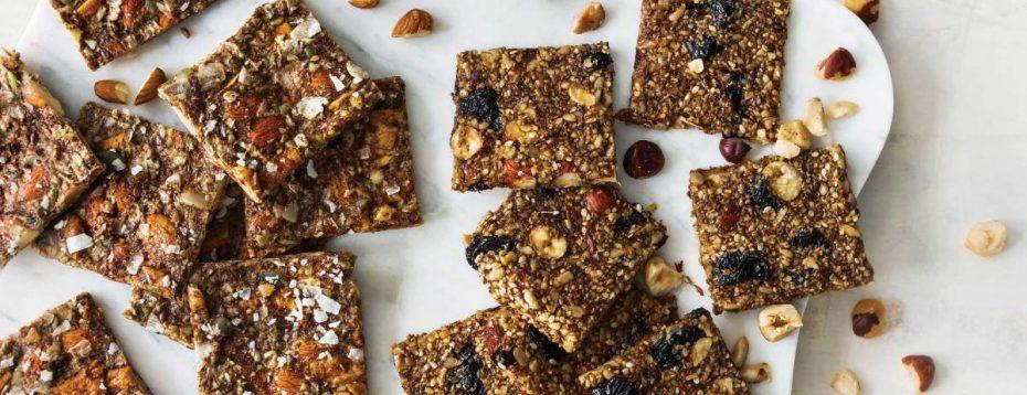 Seed Cycling Flaxseed Cracker Recipe