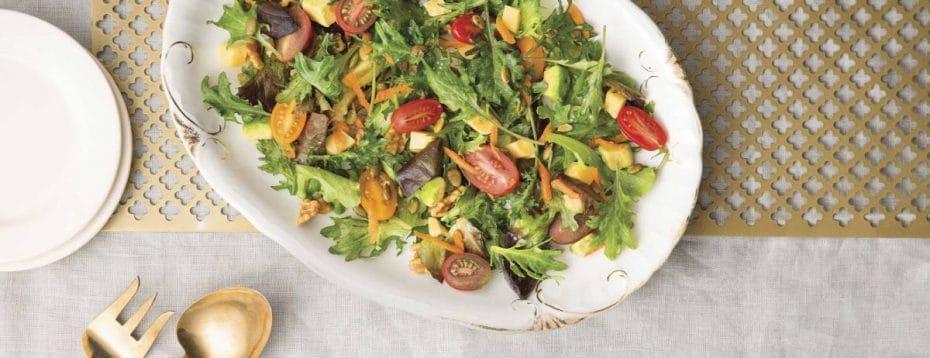 Recipe: Savory Spring Avocado Salad