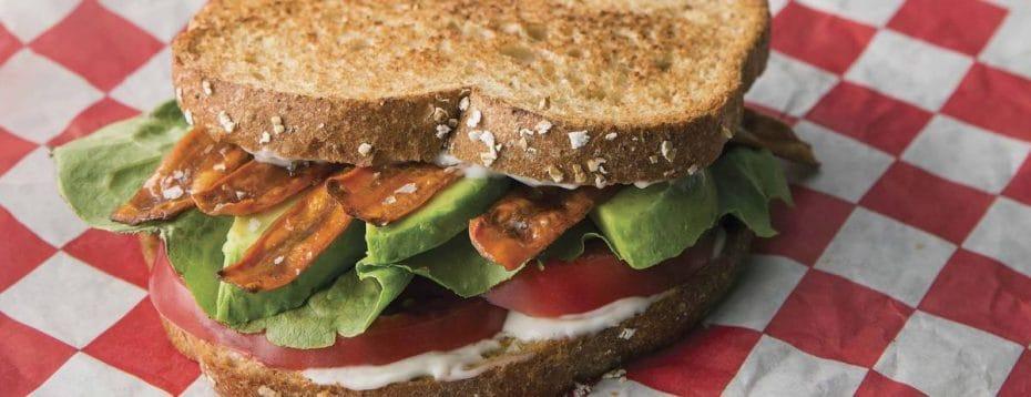 Kathryn Budig's Vegan BLT Recipe
